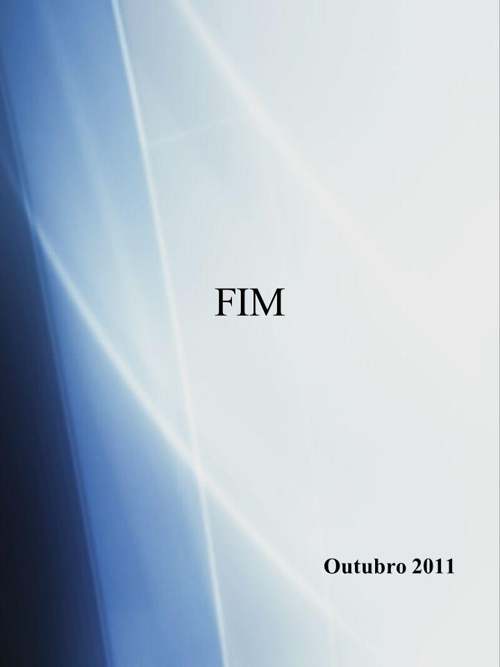 FIM Outubro 2011 FIM Outubro 2011