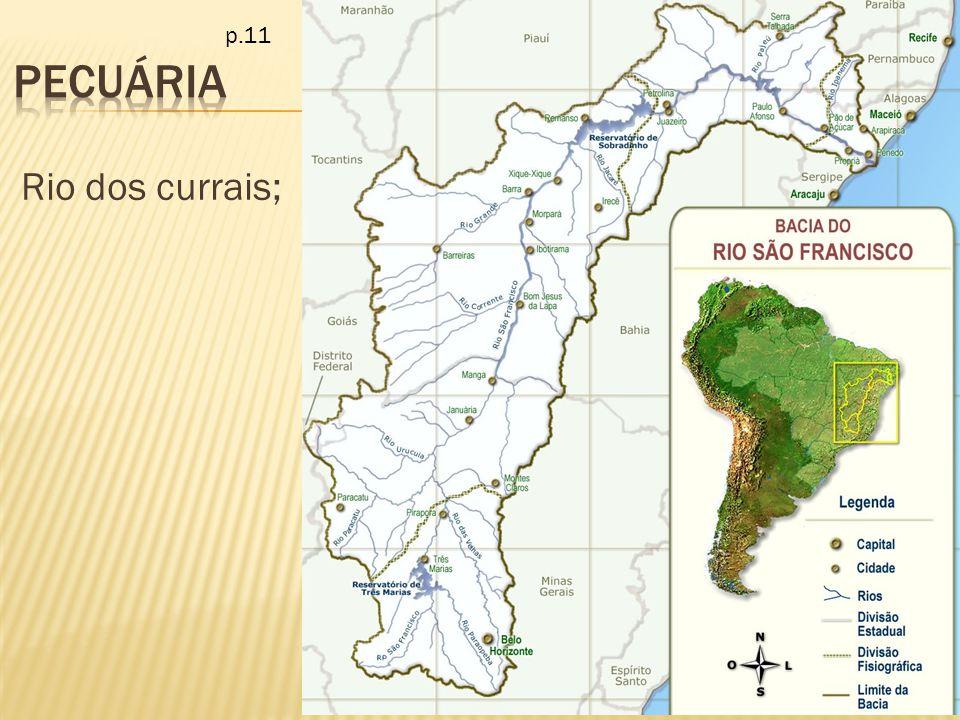 Rio dos currais; p.11