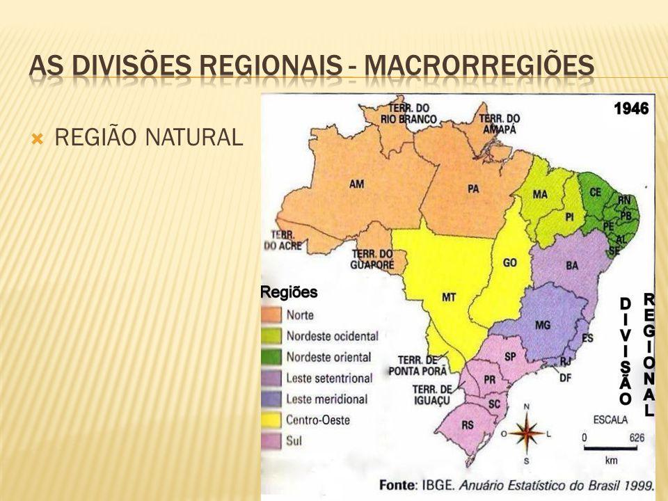 REGIÃO NATURAL