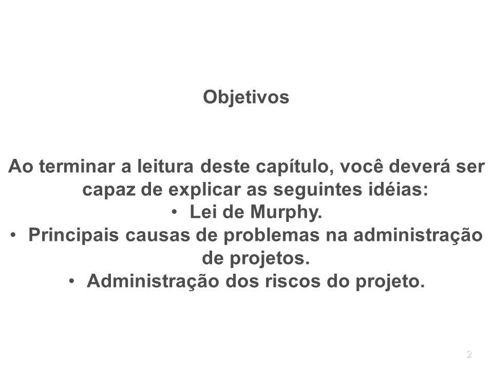 33 4.2 Análise dos riscos A análise dos riscos procura determinar o efeito que os riscos terão sobre o projeto.