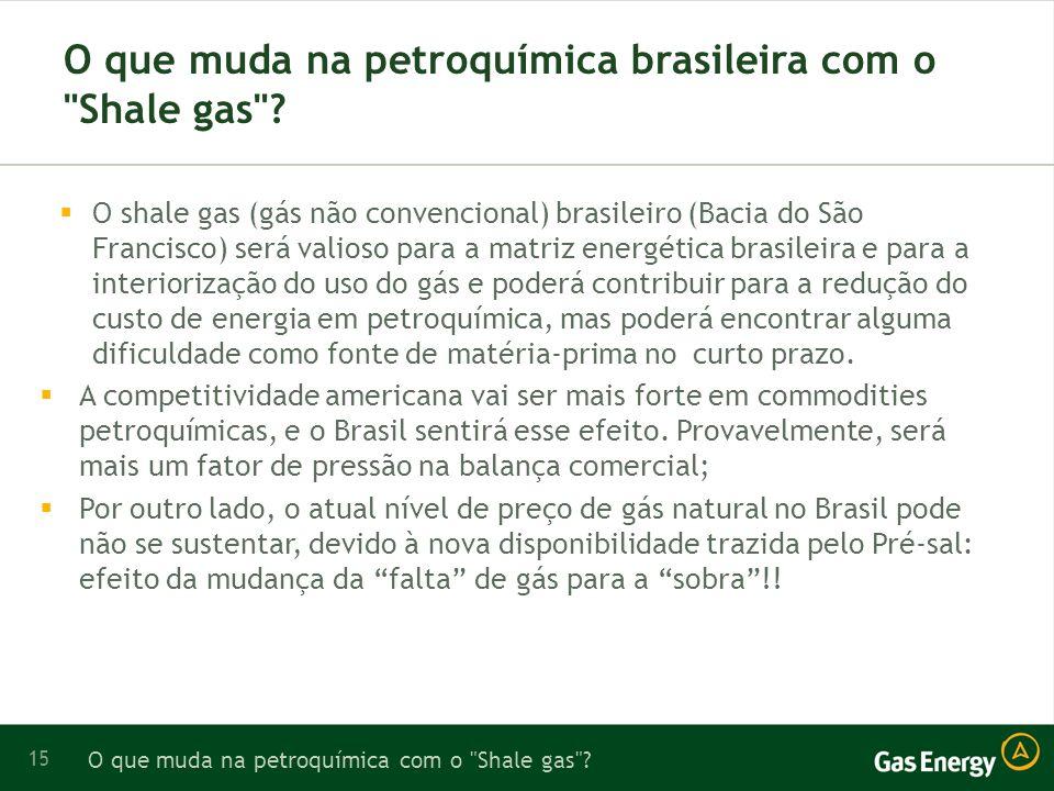 15 O que muda na petroquímica brasileira com o Shale gas .