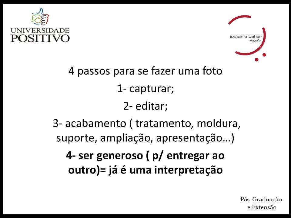 Pós-Graduação e Extensão MANUEL ALVAREZ BRAVO http://www.manuelalvarezbravo.org/index.php SEBASTIAO SALGADO http://www.amazonasimages.com/grands-travaux http://www1.folha.uol.com.br/ilustrada/1241588-sebastiao-salgado-lanca-projeto- genesis-que-registra-tribos-e-paisagens-isoladas.shtml JOÃO ROBERTO RIPPER IMAGENS HUMANAS http://imagenshumanas.photoshelter.com/ https://www.google.com.br/search?q=imagens+humanas+jo%C3%A3o+roberto+ripper&h l=pt-BR&client=firefox-a&hs=1g6&rls=org.mozilla:pt- BR:official&tbm=isch&tbo=u&source=univ&sa=X&ei=qqxYUeegOpDp0QH_6ICYBw&ved=0 CDsQsAQ&biw=1063&bih=865