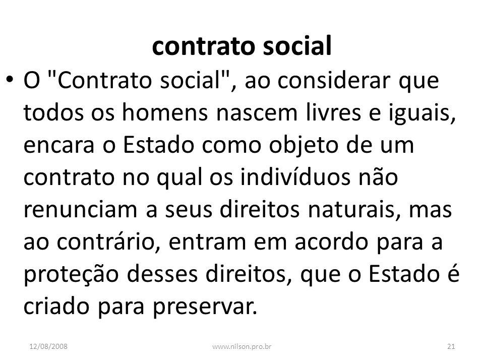 contrato social O