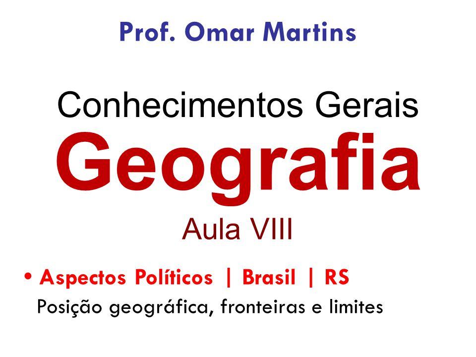 Questões Aplicadas | Estatísticas Levantamento realizado em 40 questões aplicadas de Conhecimentos Gerais – Geografia em concursos da BM/RS e PC/RS nos anos de 2010, 2009, 2005 e 2002.
