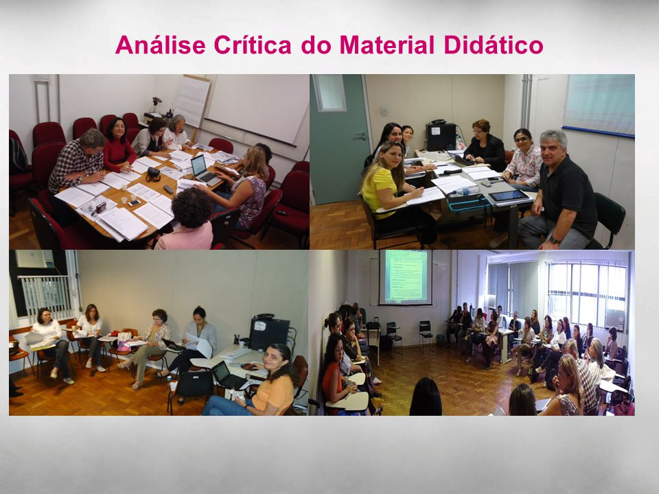 Análise Crítica do Material Didático