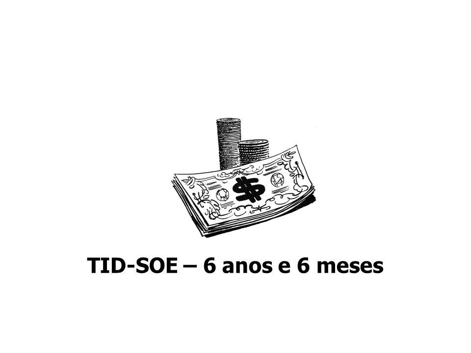 TID-SOE – 6 anos e 6 meses