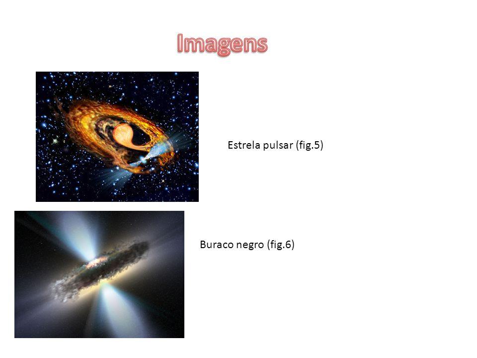 Estrela pulsar (fig.5) Buraco negro (fig.6)