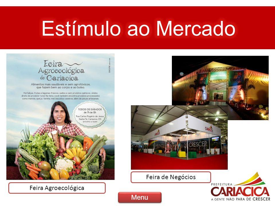 Feira Agroecológica Feira de Negócios Menu