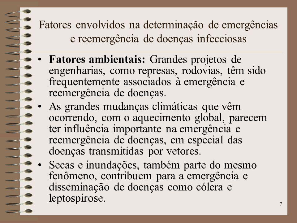18 Dengue: o que é O dengue é uma doença infecciosa febril aguda,causada por um arbovírus (existem quatro tipos diferentes de vírus da dengue: DEN-1, DEN-2, DEN-3 e DEN-4), que ocorre principalmente em áreas tropicais e subtropicais do mundo, inclusive no Brasil.