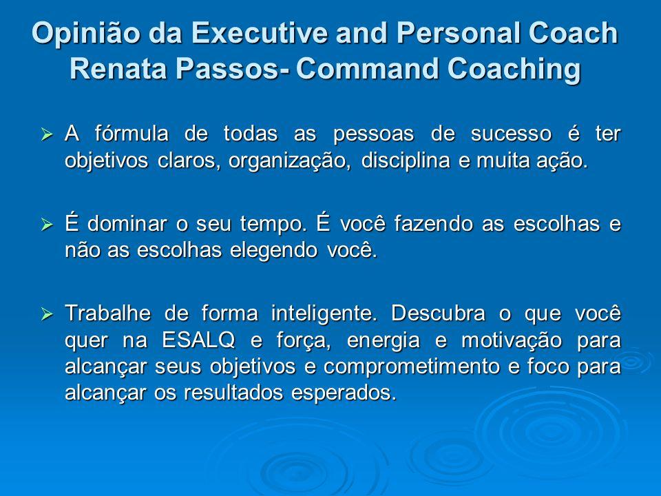 A fórmula de todas as pessoas de sucesso é ter objetivos claros, organização, disciplina e muita ação. A fórmula de todas as pessoas de sucesso é ter