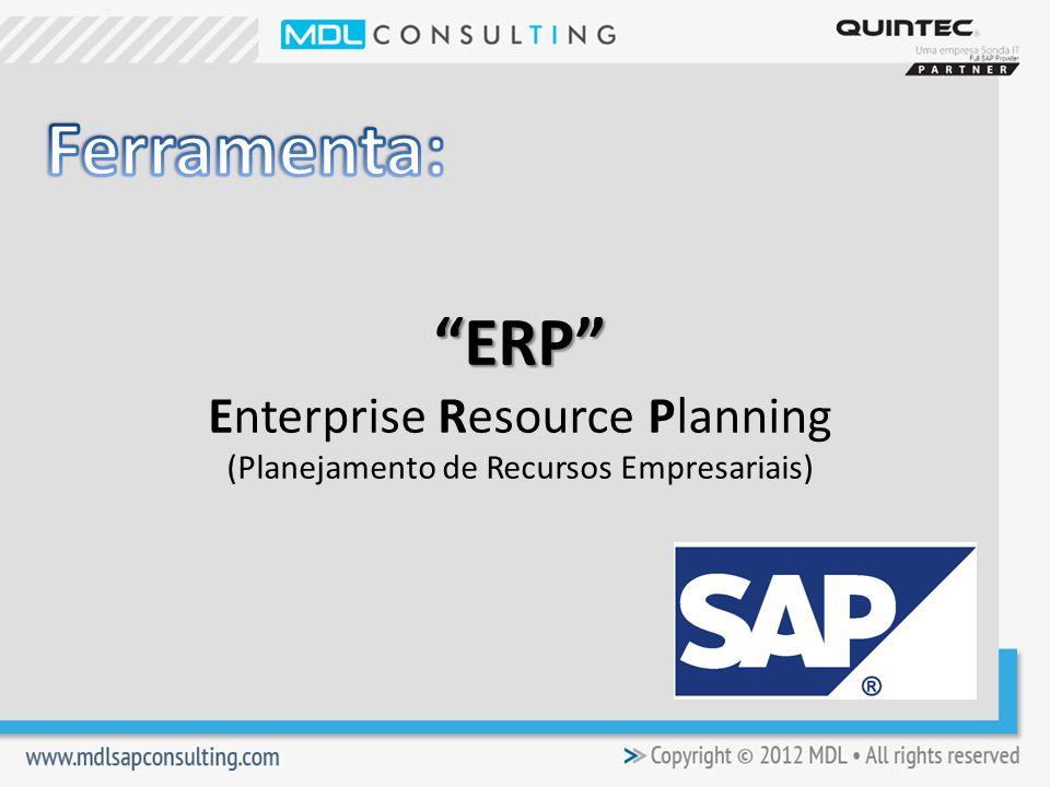 ERP ERP Enterprise Resource Planning (Planejamento de Recursos Empresariais)