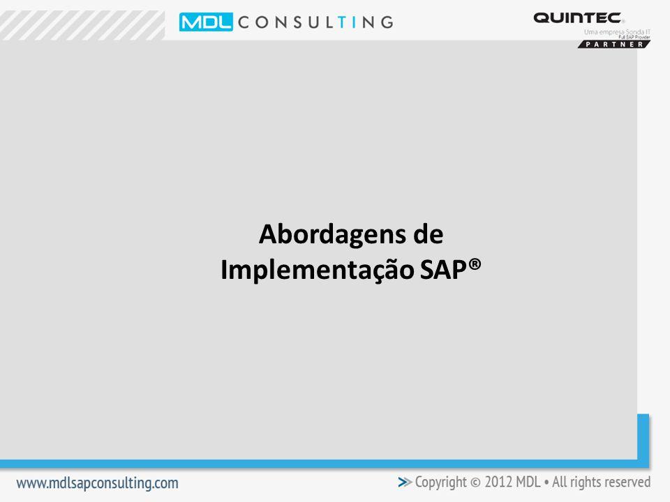 Abordagens de Implementação SAP®