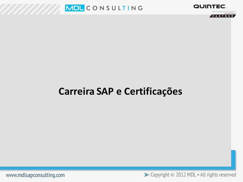 Carreira SAP e Certificações