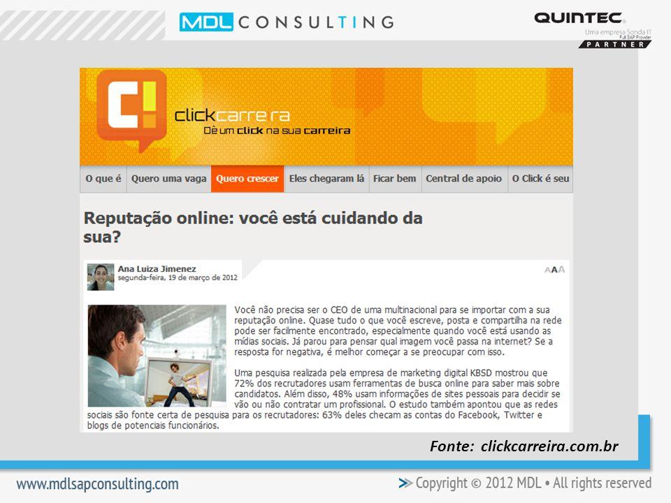 Fonte: clickcarreira.com.br