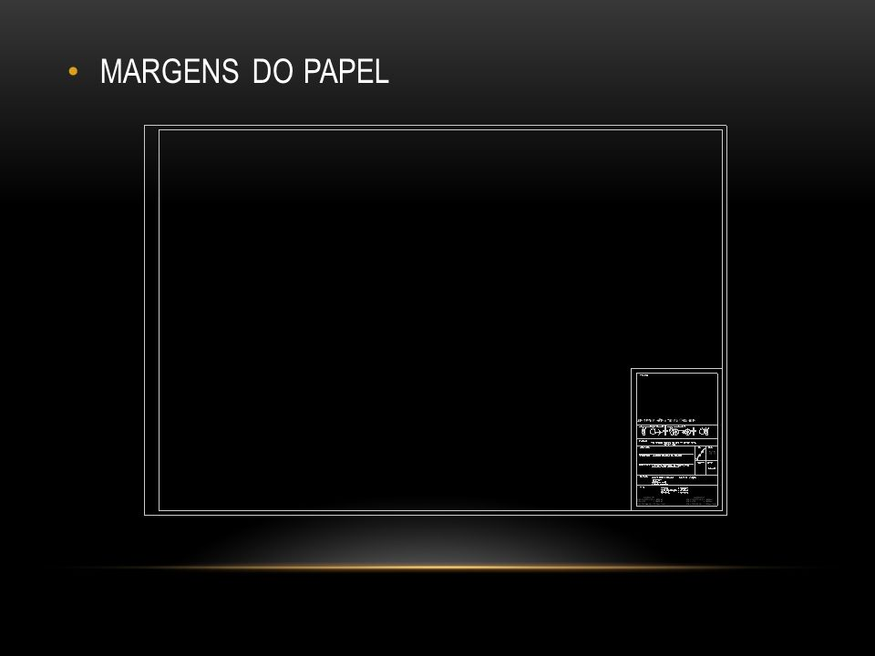 MARGENS DO PAPEL