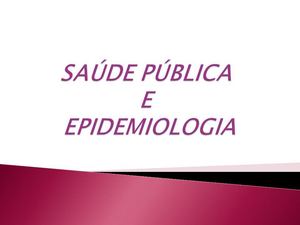 Conceitos, correlações e níveis de prevenção Evolução da Saúde Pública Sistema Único Saúde (SUS) Estatística Vital - métodos de avaliação epidemiológica das doenças transmissíveis e não- transmissíveis Introdução ao planejamento em Saúde