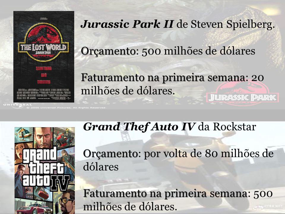 Jurassic Park II de Steven Spielberg.