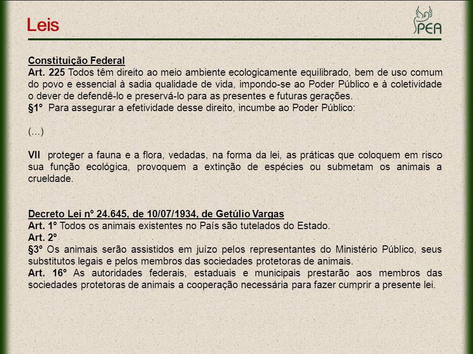 Lei Federal de Crimes Ambientais - nº 9.605/98 Art.