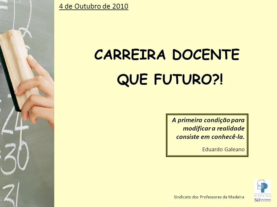 CARREIRA DOCENTE QUE FUTURO?.QUE FUTURO?.