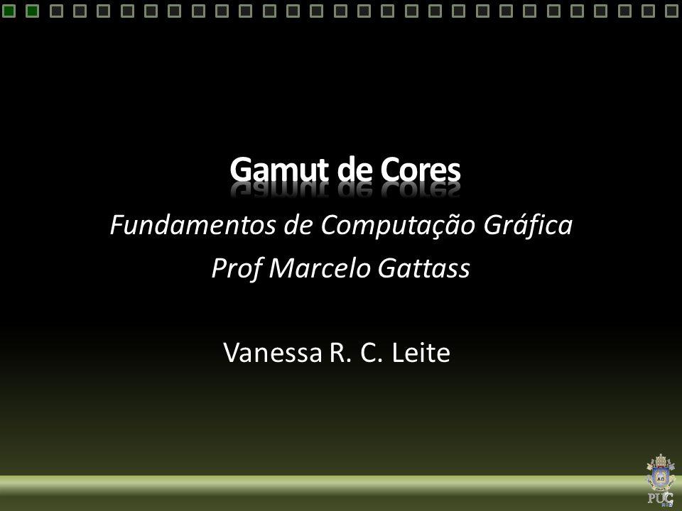 Fundamentos de Computação Gráfica Prof Marcelo Gattass Vanessa R. C. Leite