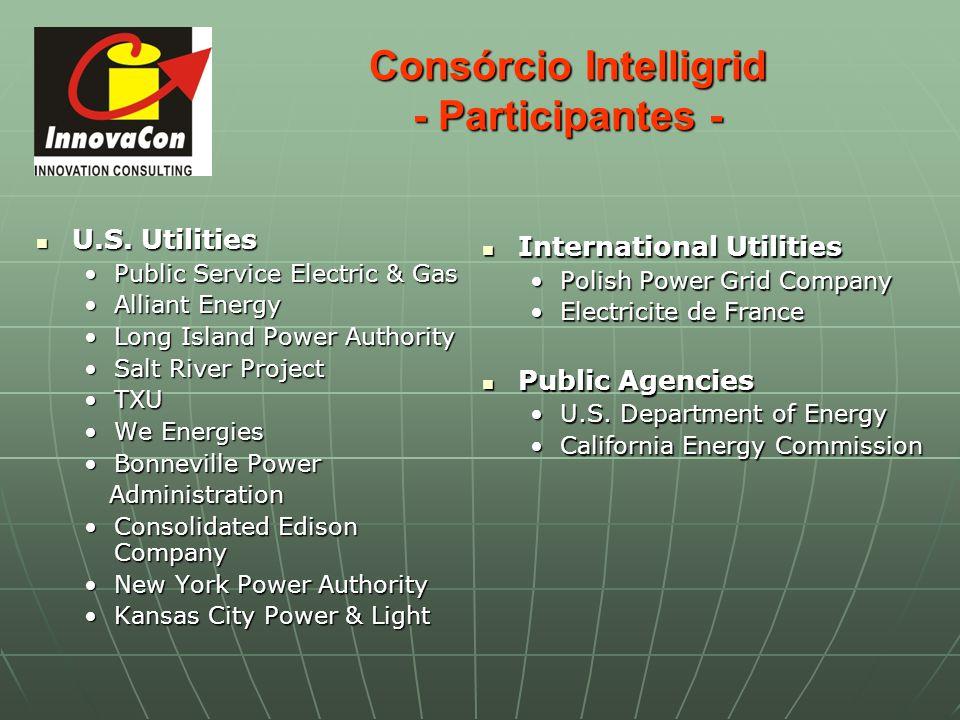 Consórcio Intelligrid - Participantes - U.S. Utilities U.S. Utilities Public Service Electric & Gas Public Service Electric & Gas Alliant Energy Allia