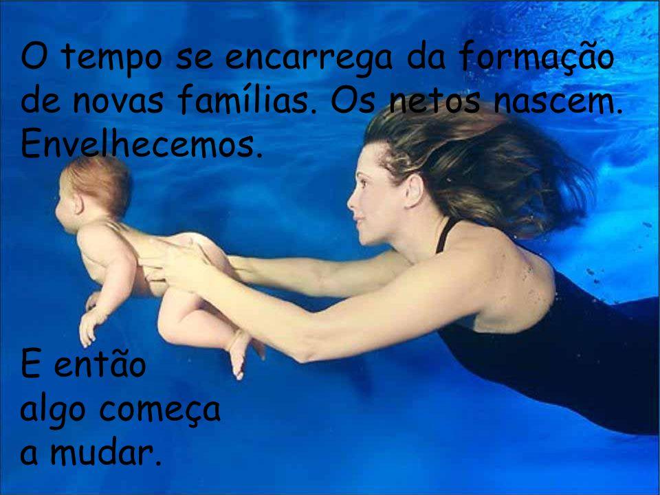 O tempo se encarrega da formação de novas famílias.