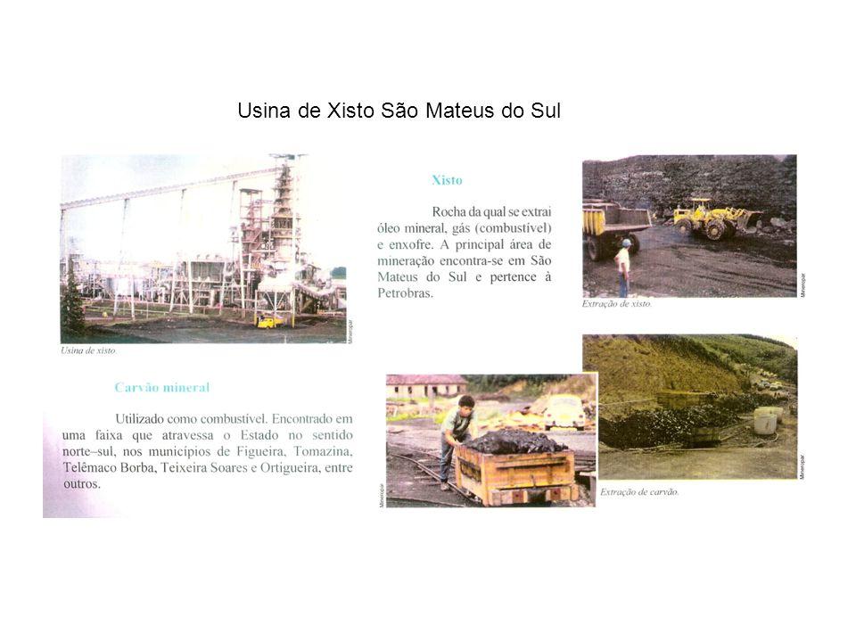 Usina de Xisto São Mateus do Sul