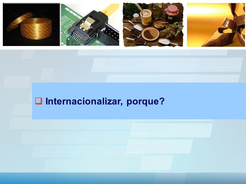 Internacionalizar, porque?