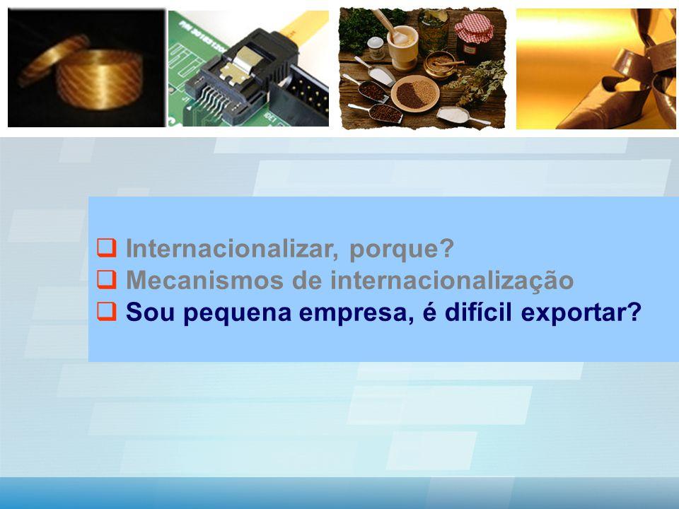 Internacionalizar, porque.
