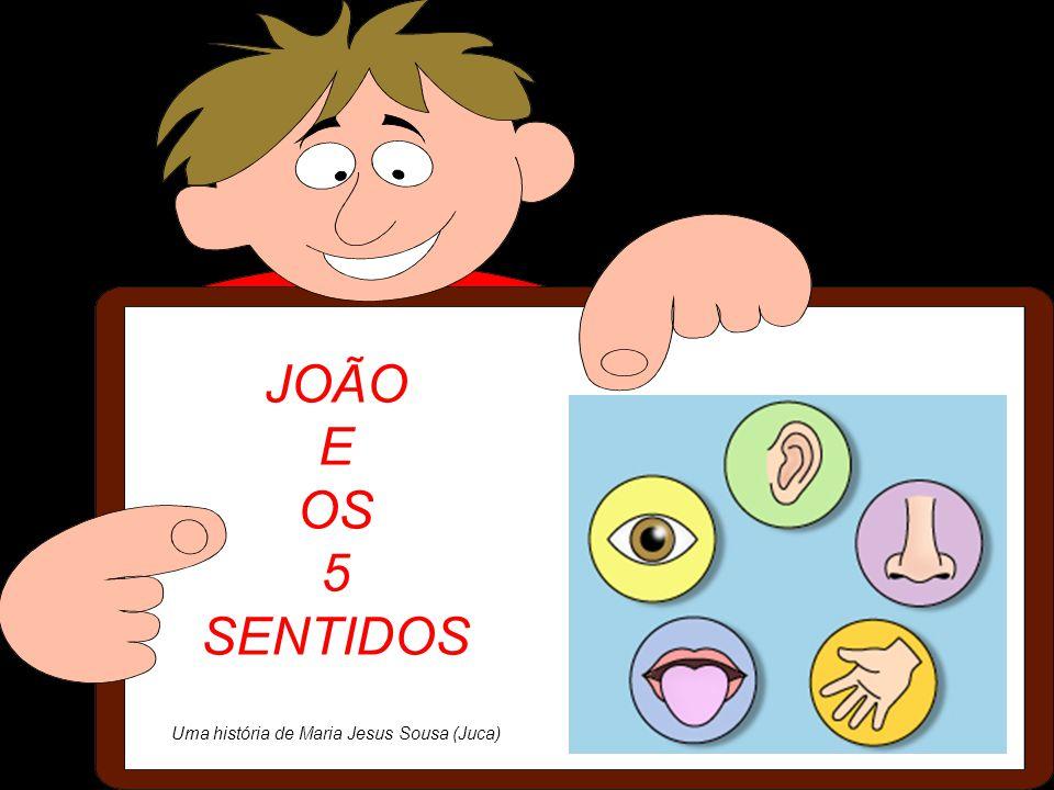 JOÃO E OS 5 SENTIDOS Uma história de Maria Jesus Sousa (Juca)