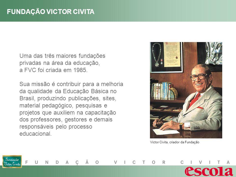 Uma das três maiores fundações privadas na área da educação, a FVC foi criada em 1985.