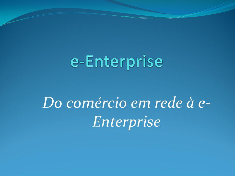 Do comércio em rede à e- Enterprise