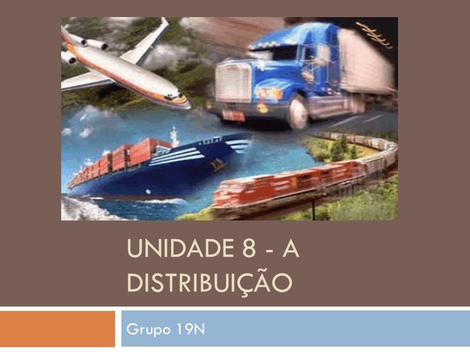UNIDADE 8 - A DISTRIBUIÇÃO Grupo 19N