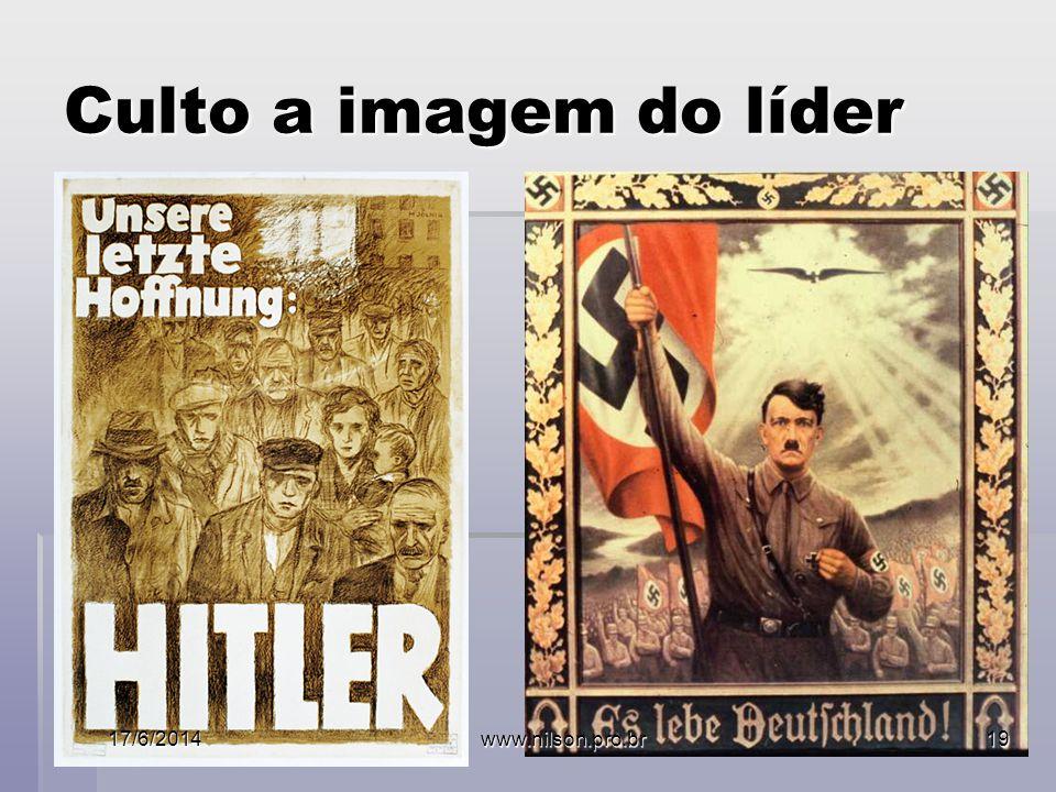 Culto a imagem do líder 17/6/2014www.nilson.pro.br19