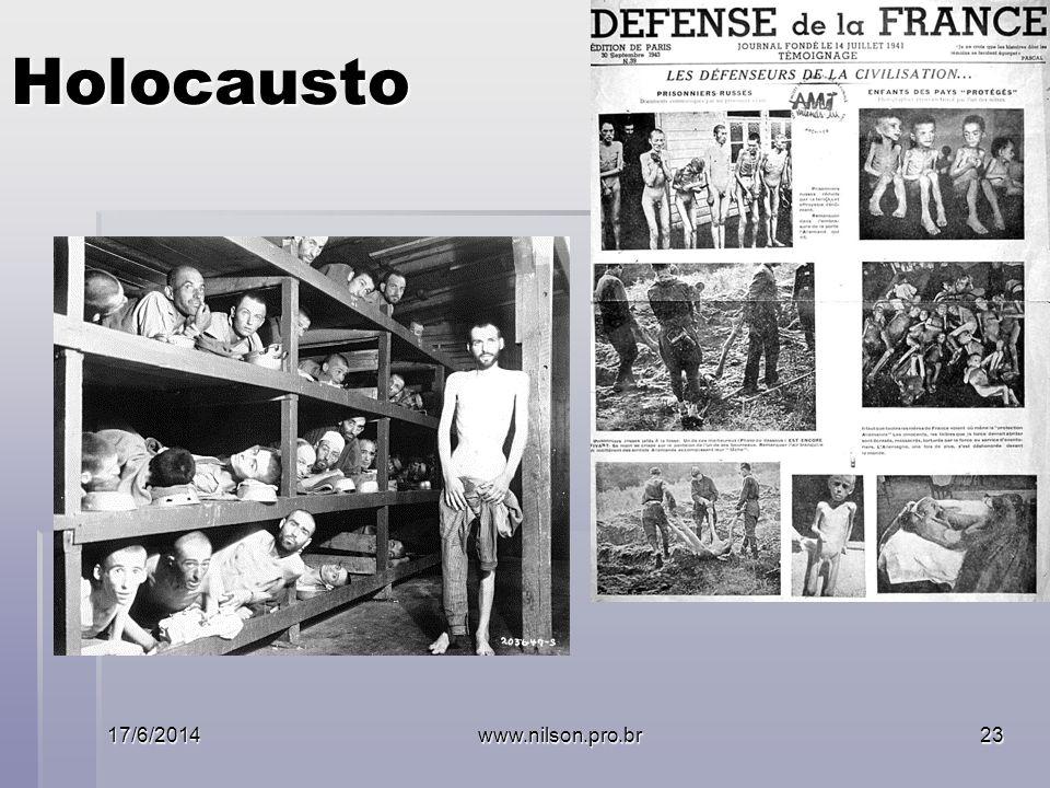 Holocausto 17/6/2014www.nilson.pro.br23