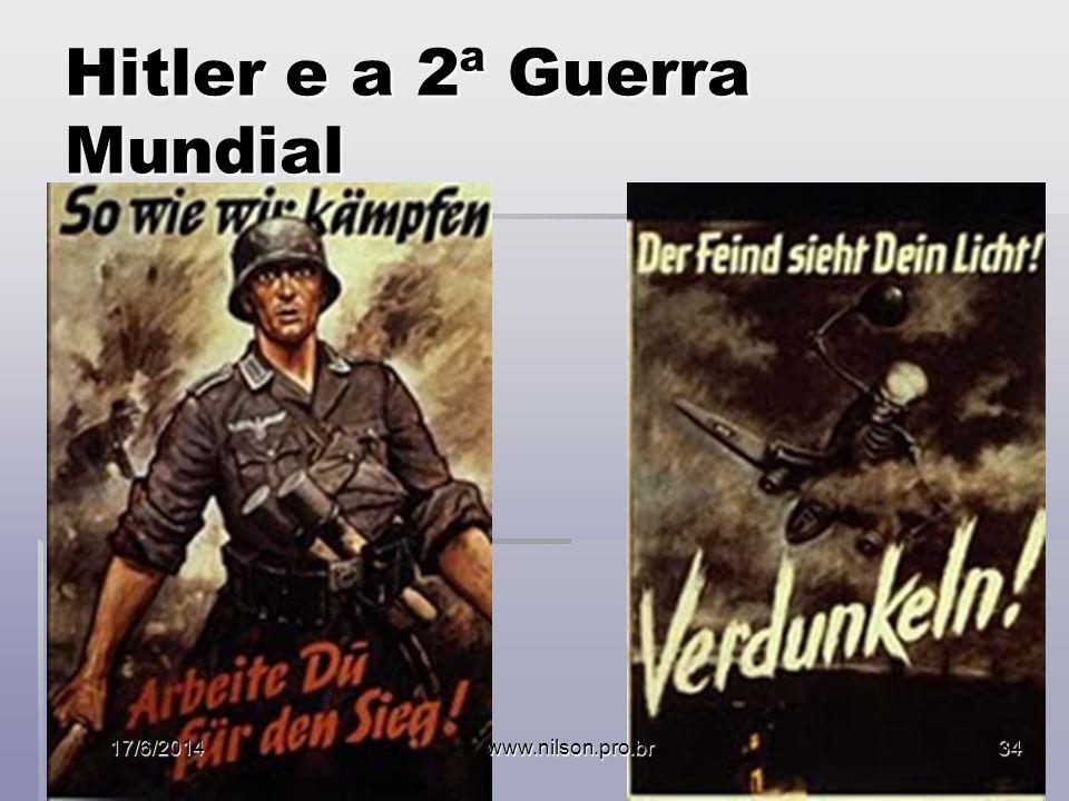 Hitler e a 2ª Guerra Mundial 17/6/2014www.nilson.pro.br34