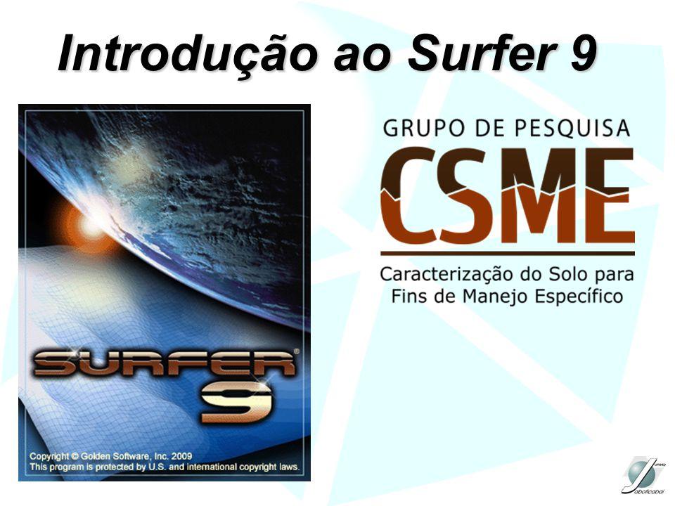 Introdução ao Surfer 9