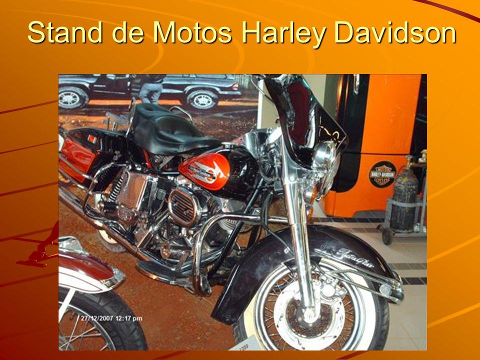 Stand de Motos Harley Davidson