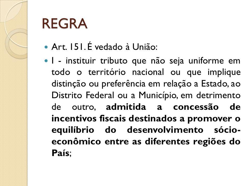 REGRA Art.151.