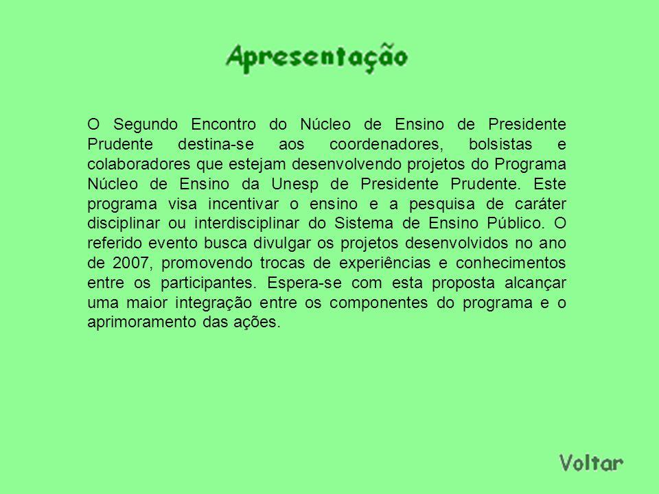 Coordenação Profa.Dra. Silvania Lanfredi Nobre Prof.