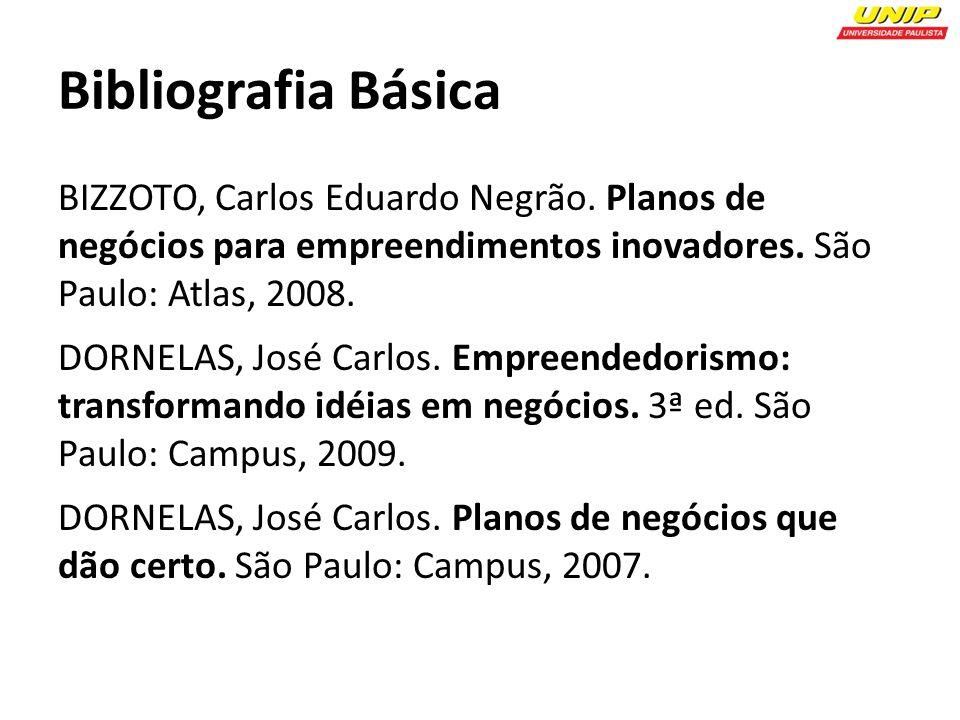 Bibliografia Básica BIZZOTO, Carlos Eduardo Negrão.