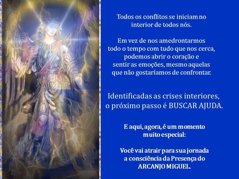 Acredite que os anjos sejam capazes de representar uma grande AJUDA para nós em meio a um mundo de crise. Cabe a nós abraçar essa idéia e atrair uma v