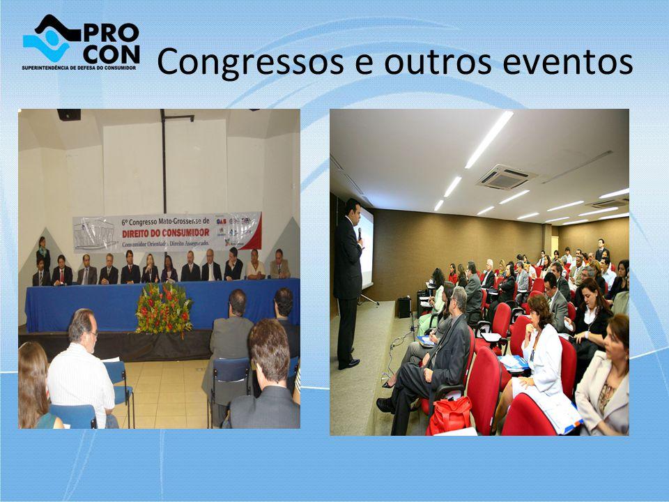 Congressos e outros eventos