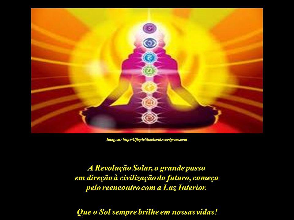Que o Sol sempre brilhe em nossas vidas! Imagem: http://www.magaweb.com.br - Jornal Pôr do Sol O verdadeiro desenvolvimento – o grande salto quântico