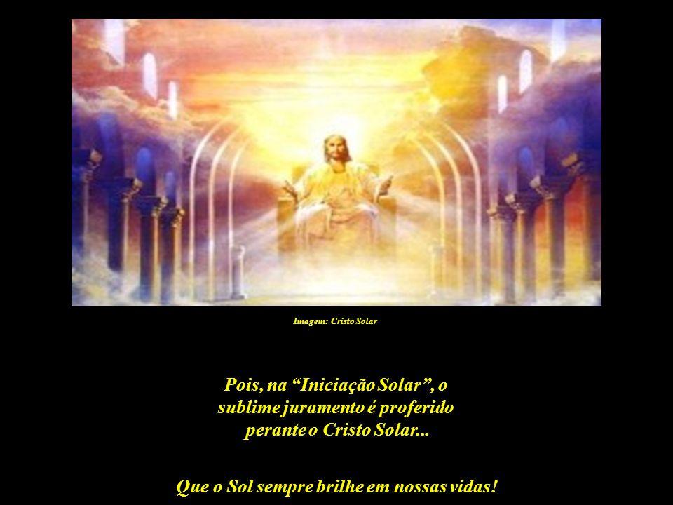 Que o Sol sempre brilhe em nossas vidas! Imagem: http://lugardaalma.com – golden radiance mandala De ninguém é exigido um juramento tão sério, mas que