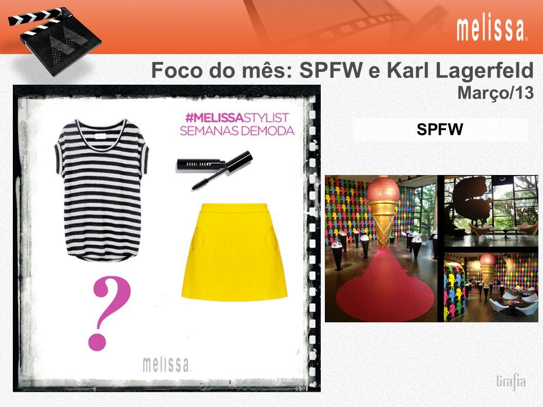 SPFW Foco do mês: SPFW e Karl Lagerfeld Março/13
