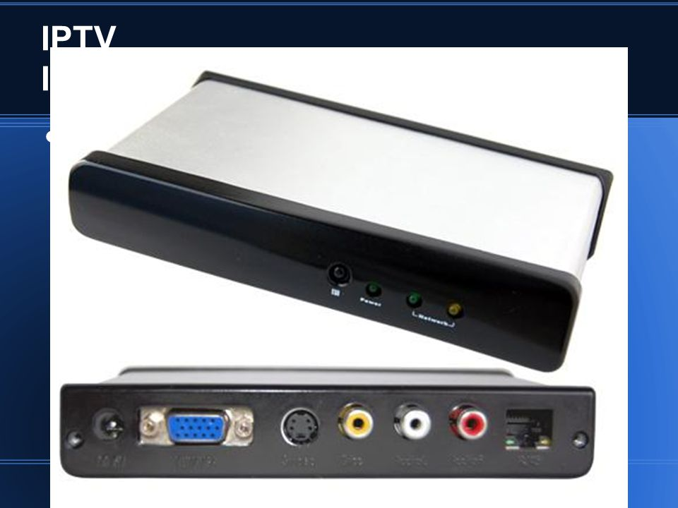 IPTV Infra-estrutura - Hardware Set-top Box (cliente)