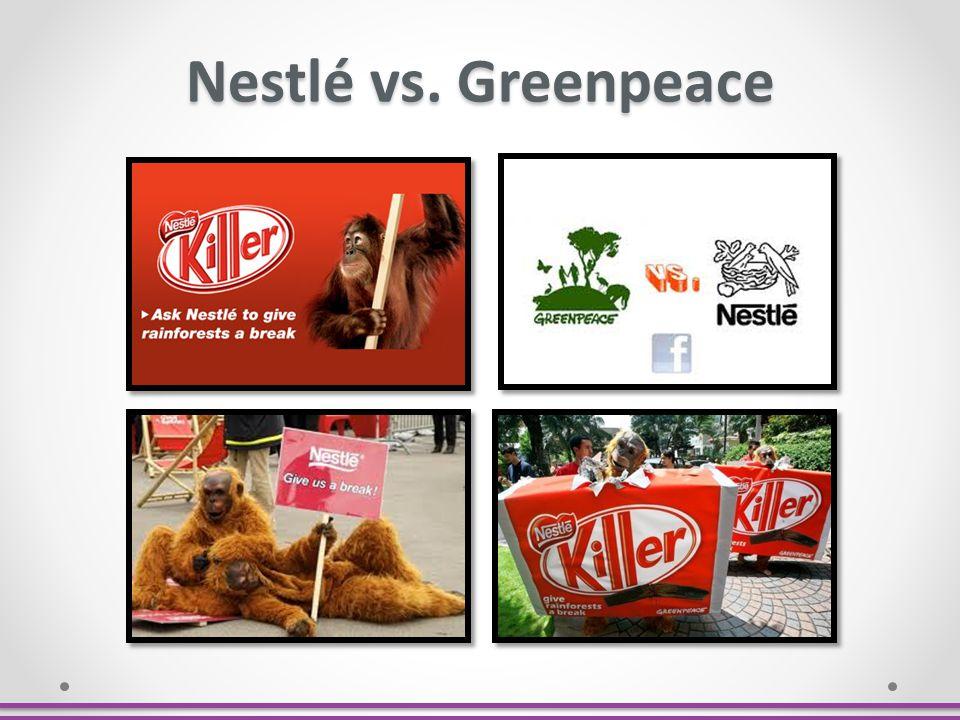 Nestlé vs. Greenpeace
