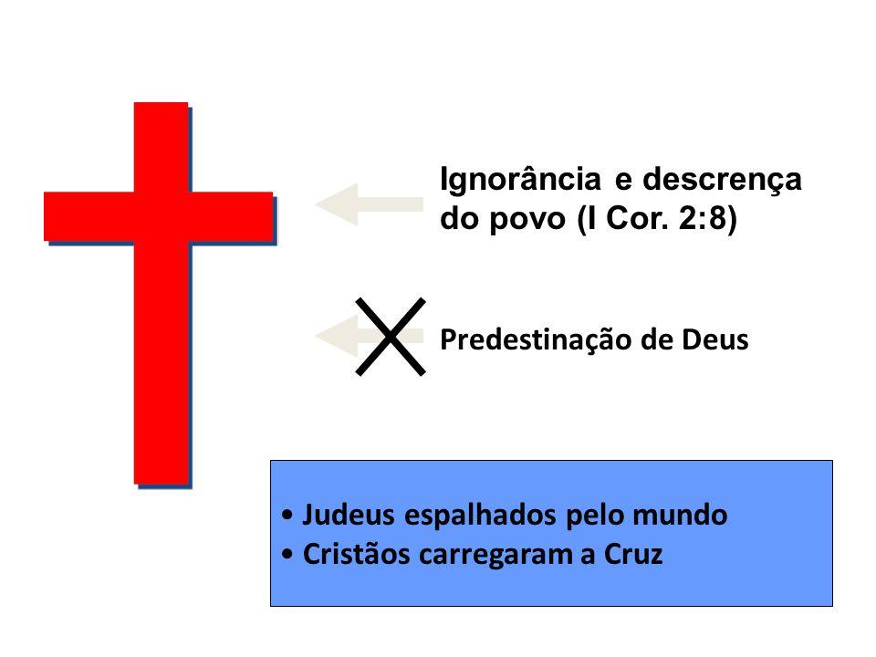 Ignorância e descrença do povo (I Cor.