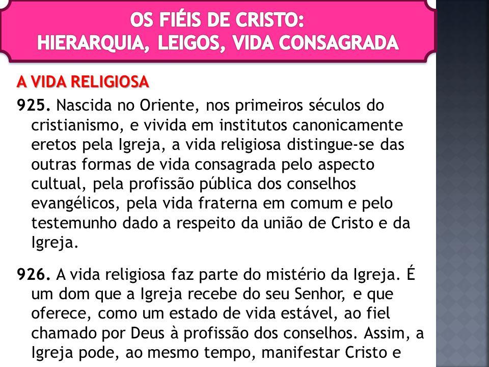 A VIDA RELIGIOSA 925.